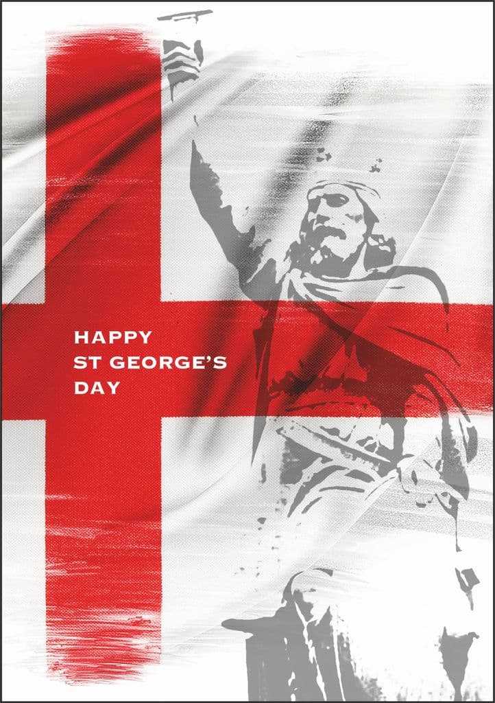 St George's Day Cards Alfred 2