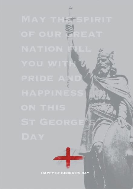 St George's Day Cards Alfred 3