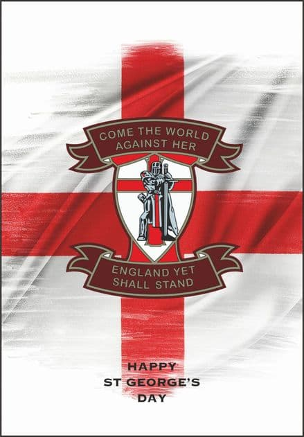 "St George's Day Cards ""Come The World"""