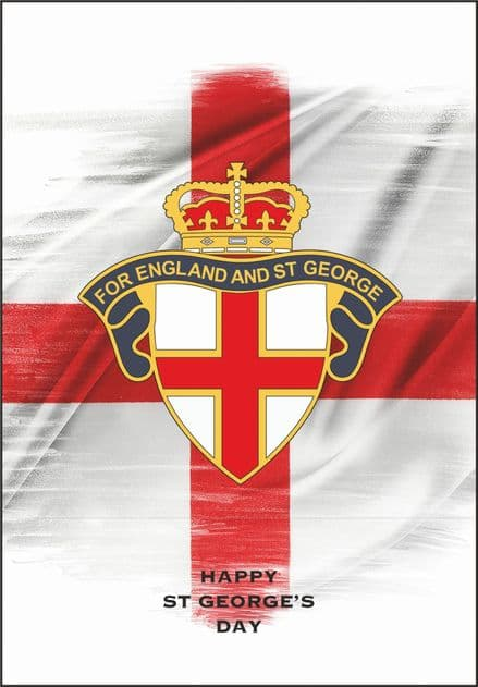 "St George's Day Cards ""For England"""