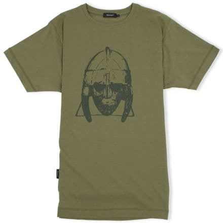 Sutton Hoo T-Shirt  - Military Green