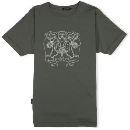 Tiw T-Shirt  - Charcoal