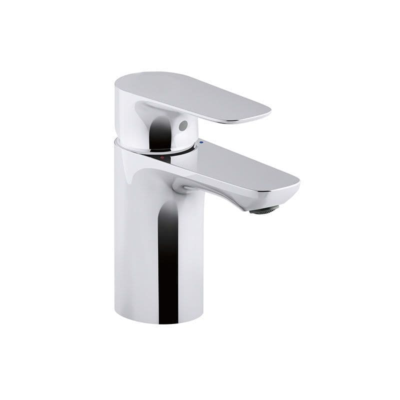 Kohler Aleo Deck-Mounted Monobloc Basin Mixer Tap with Lever Handle