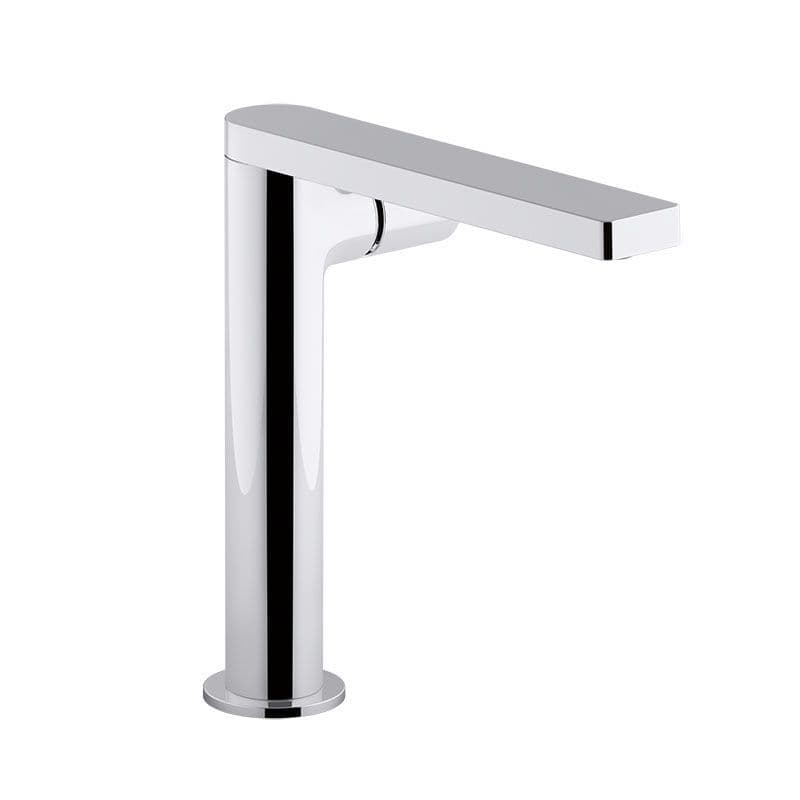 Kohler Composed Tall Deck-Mounted Monobloc Basin Mixer Tap with Dial Control