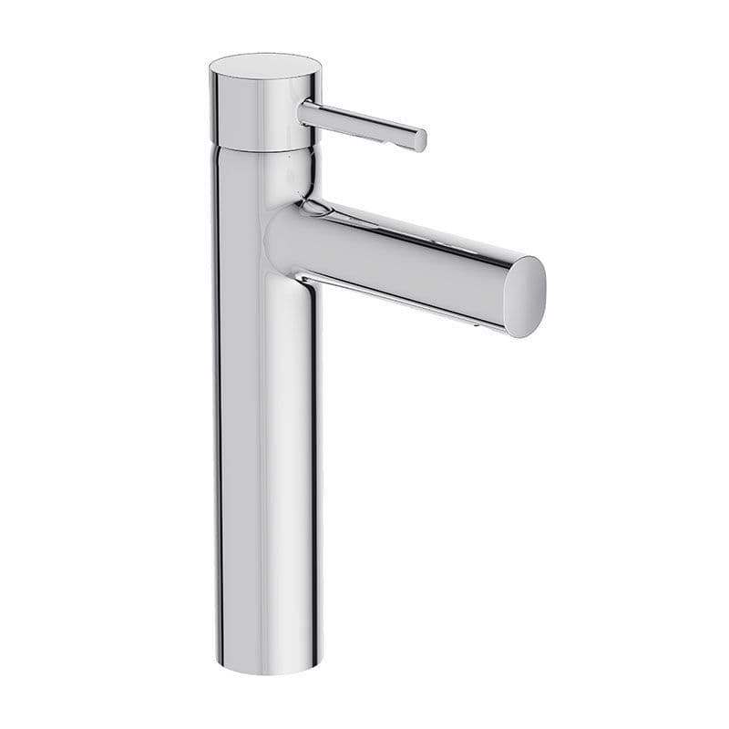 Kohler Cuff Tall Deck-Mounted Monobloc Basin Mixer Tap with Lever Handle