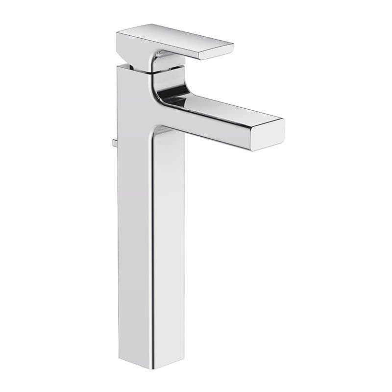 Kohler Strayt Tall Monobloc Basin Mixer Tap with Lever Handle