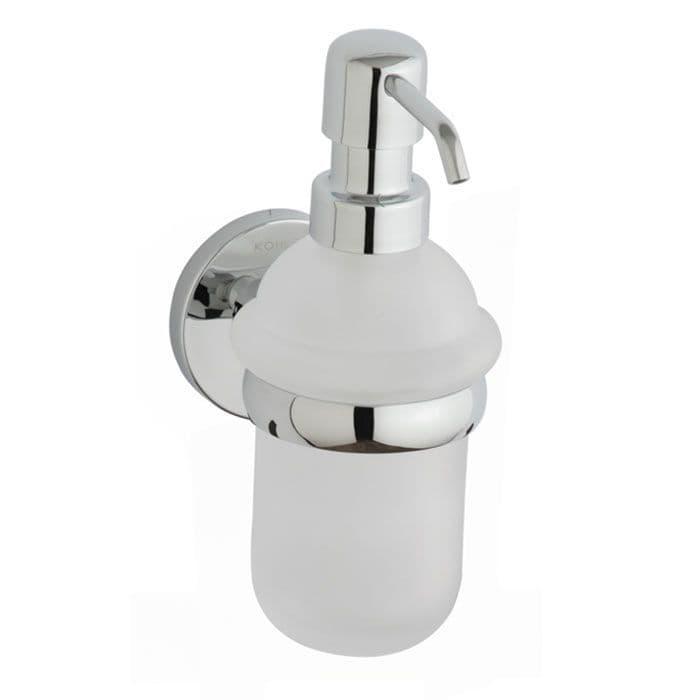 CLEARANCE - Kohler Cross Range Wall-Mounted Soap Dispenser