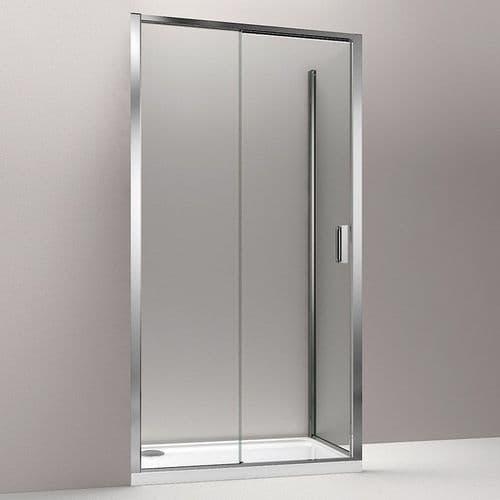 CLEARANCE - Kohler Torsion 1400 x 800mm Sliding Door Corner Shower Enclosure