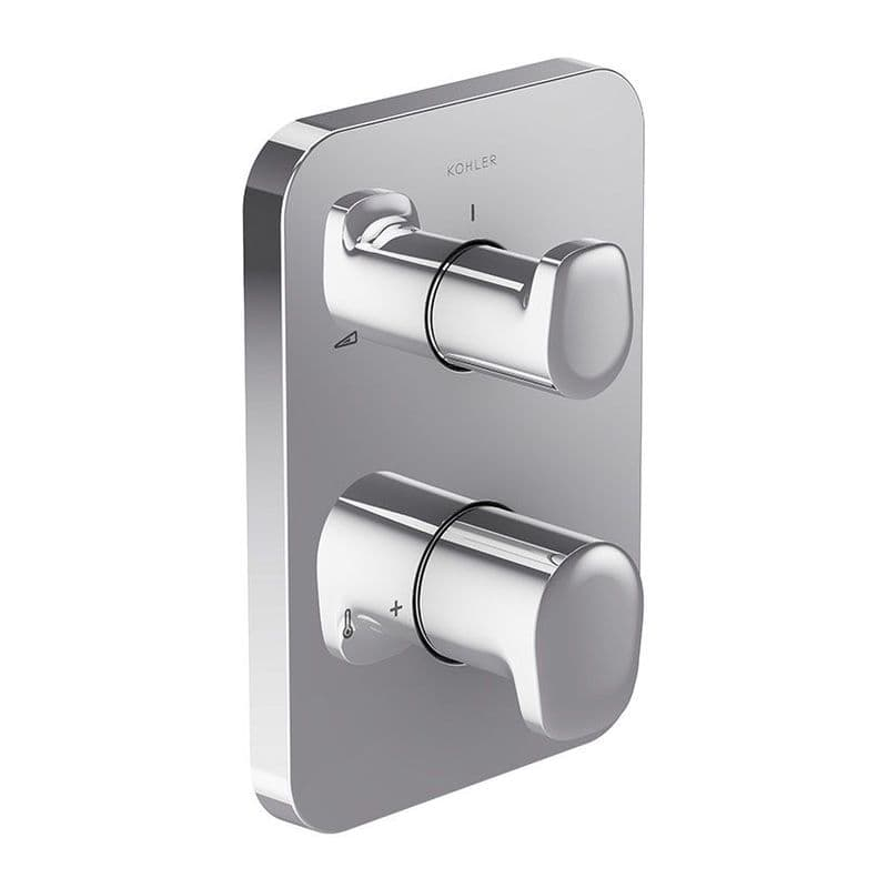 Kohler Aleo Thermostatic Concealed Shower Valve and 2-Way Diverter with Dial Controls