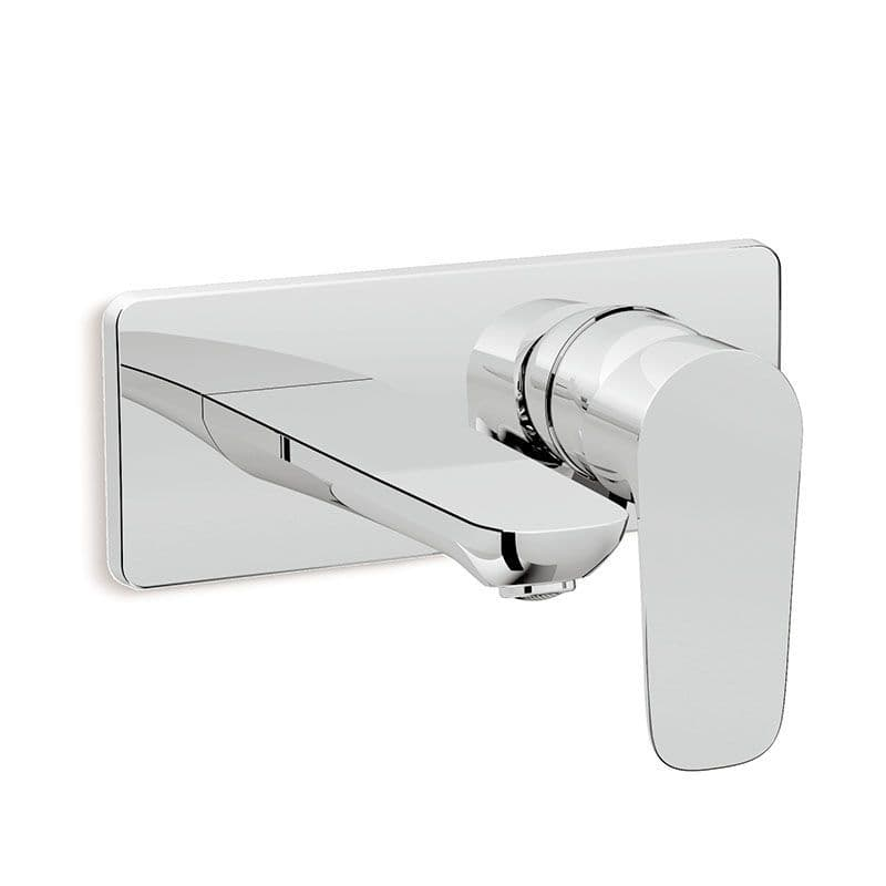 Kohler Aleo Wall-Mounted Basin Mixer Tap with Lever Handle
