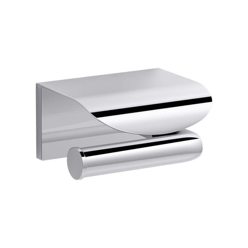 Kohler Avid/Composed Horizontal Covered Toilet Roll Holder