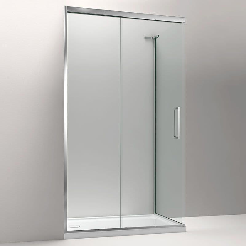 Kohler Composed 1400mm Sliding Door Corner Shower Enclosure