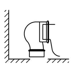 Kohler Connector for Vario Outlet Toilet Pans