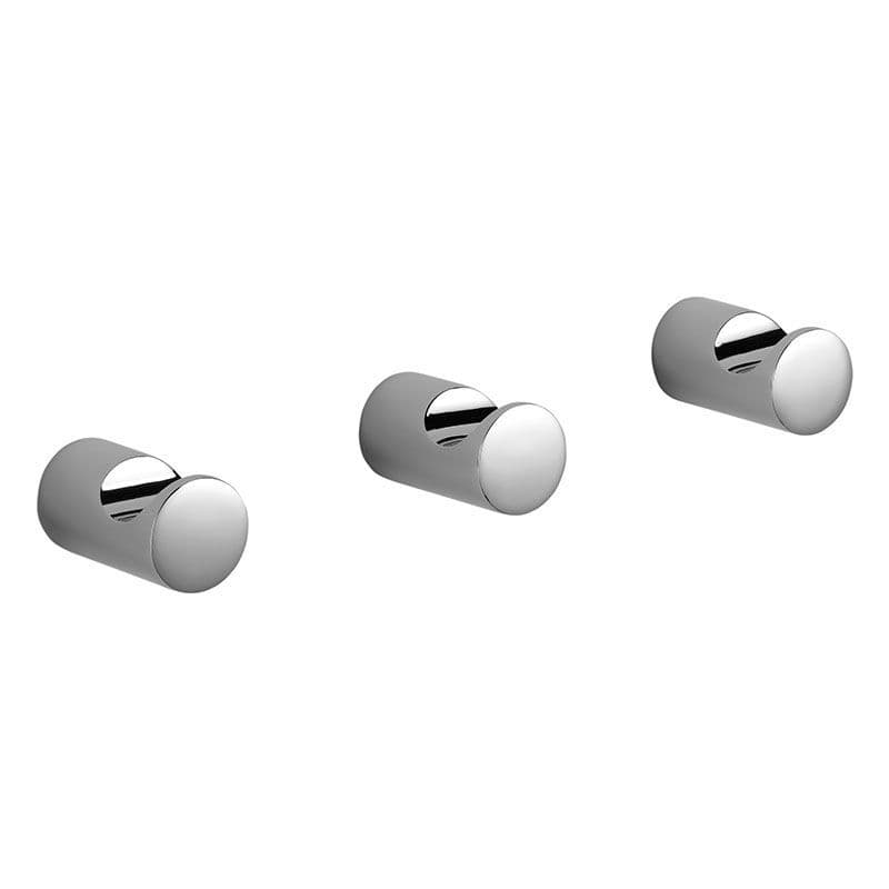 Kohler Cross Range Robe Hooks - Set of 3