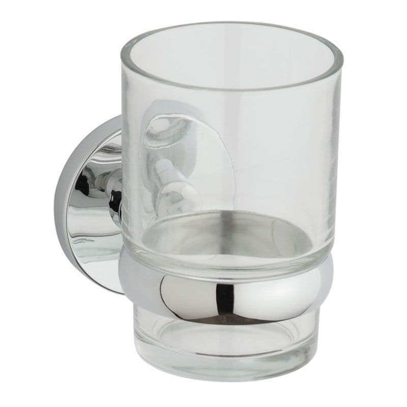 Kohler Cross Range Tumbler with Wall-Mounted Holder
