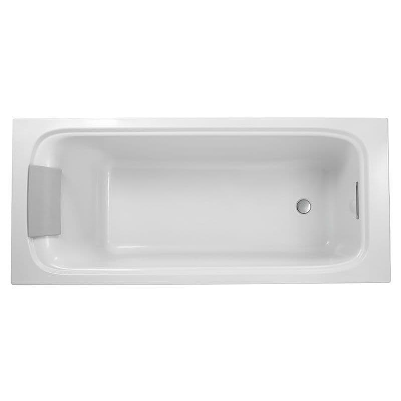 Kohler Flote 1700 x 750mm Bath with Rectangular Overflow