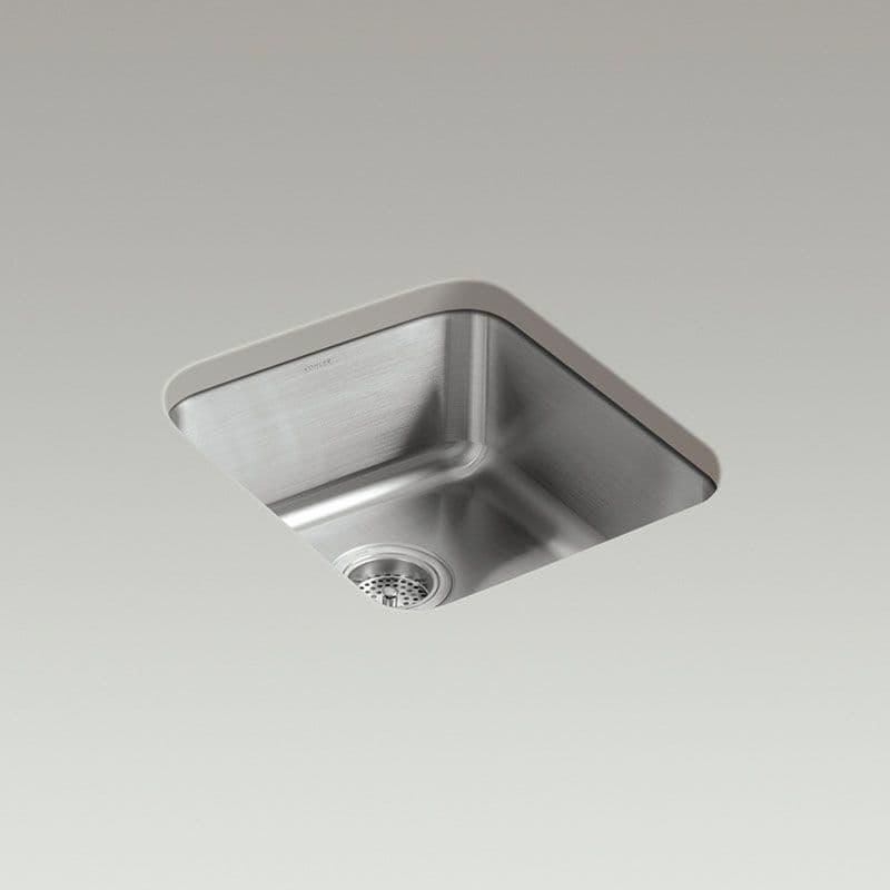 Kohler Icerock 400x445mm Kitchen Sink