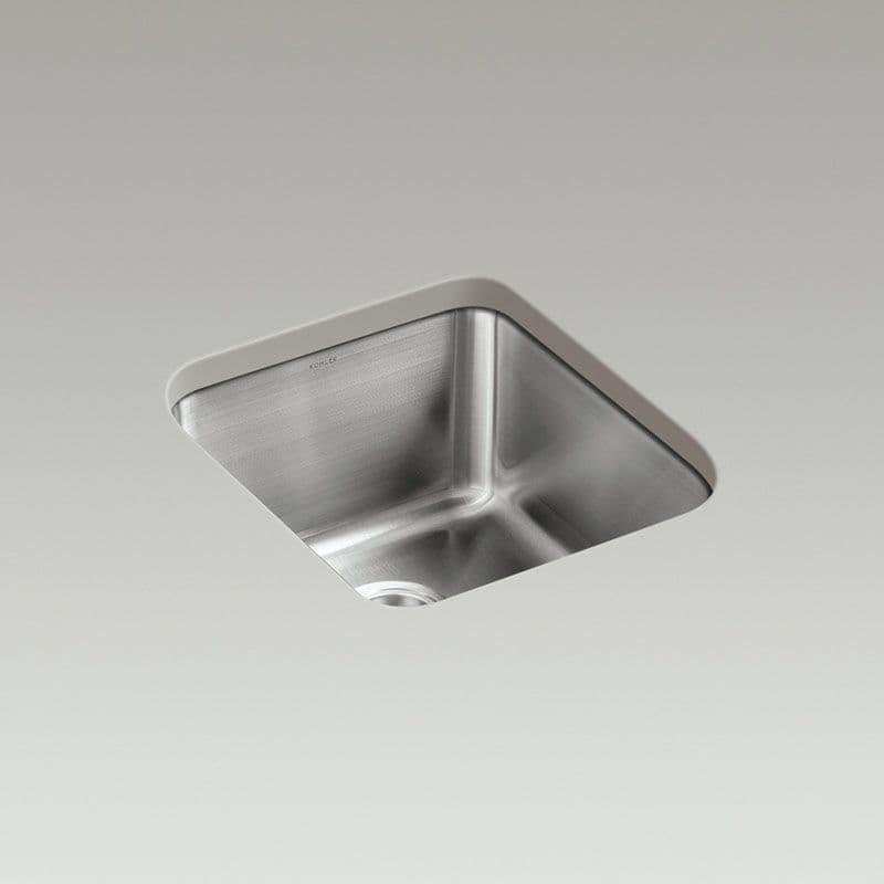 Kohler Icerock 400x445mm Kitchen Sink (Deep Bowl)