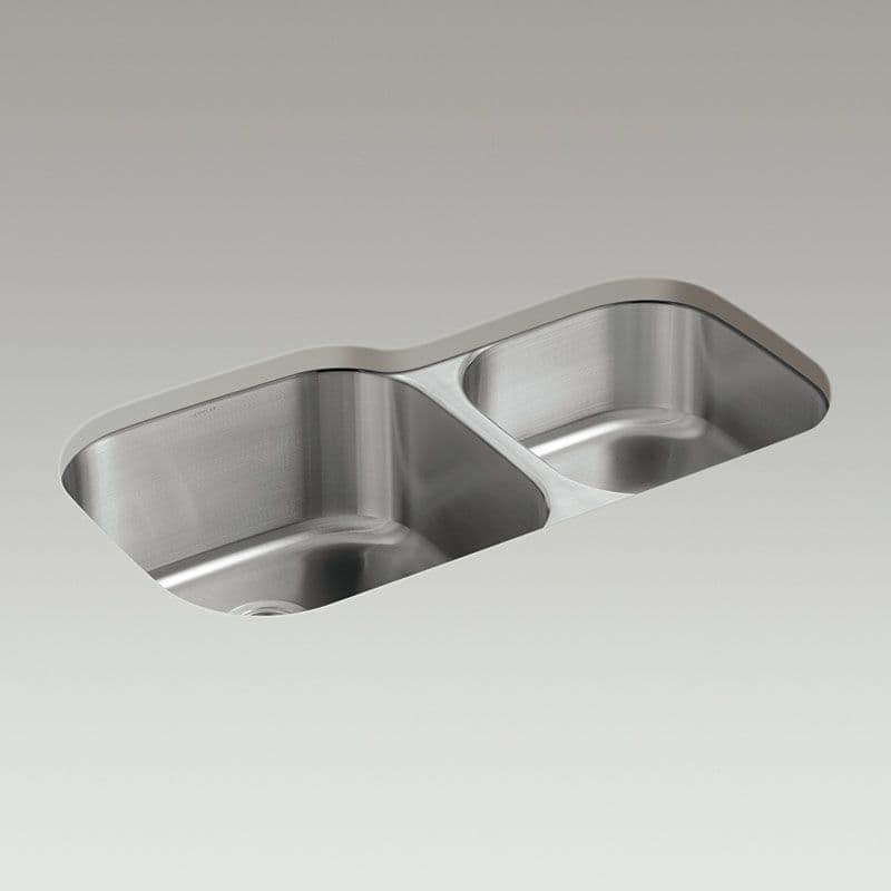 Kohler Icerock 892mm 1.75 Bowl Kitchen Sink