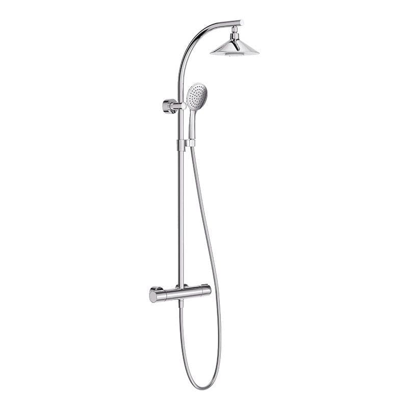 """Kohler Moxie Wall-Mounted Exposed Shower Set with 8"""" Shower Head and Built-In Wireless Speaker"""