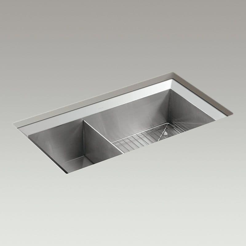 Kohler Poise 838mm 1.5 Bowl Kitchen Sink