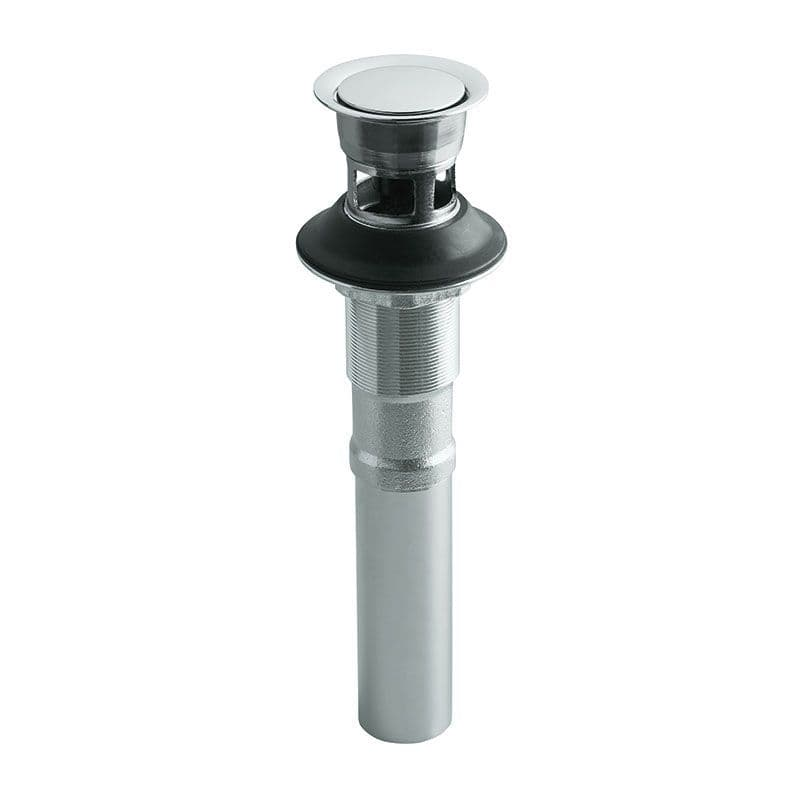 Kohler Pop-Up Clicker Basin Waste + Tailpipe for Basins with Overflow
