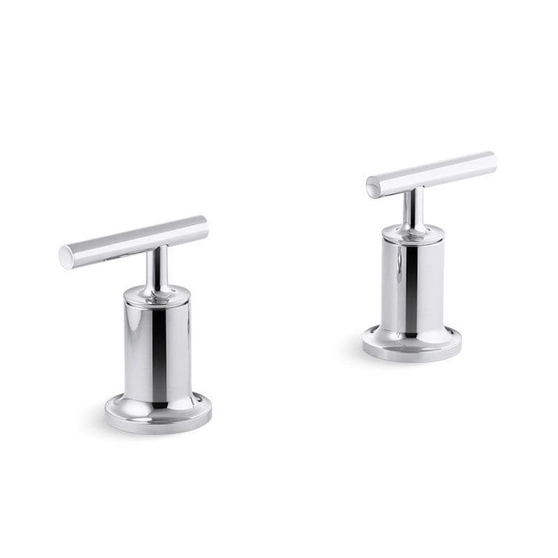 Kohler Purist Wall-Mounted Bath Valves with Lever Handles