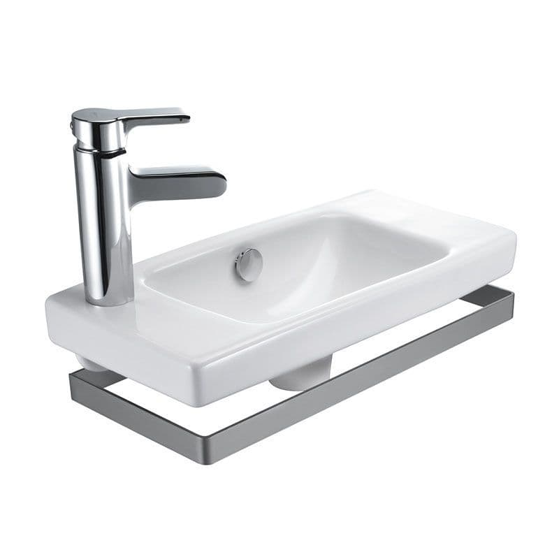 Kohler Reach 500mm Compact Hand Washbasin with Left-Hand Tap Deck