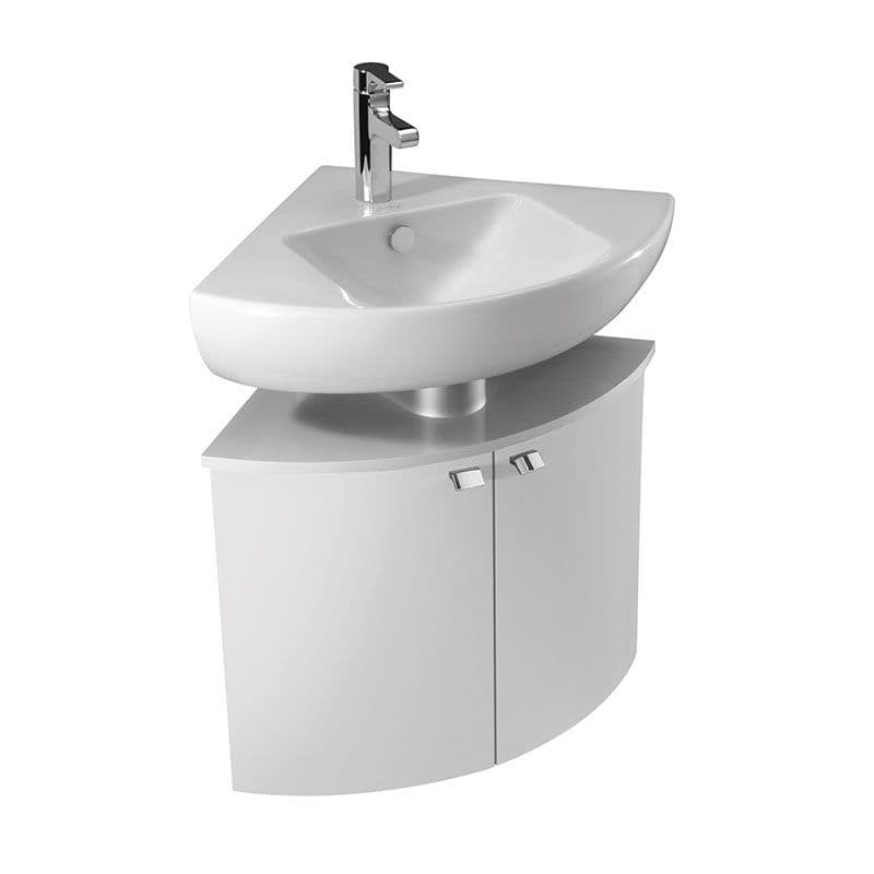 Kohler Reach 500mm Corner Washbasin & Base Unit