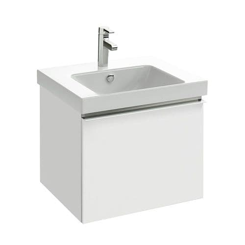 Kohler Reach 600mm Rectangular Washbasin & Base Unit with 1 Drawer