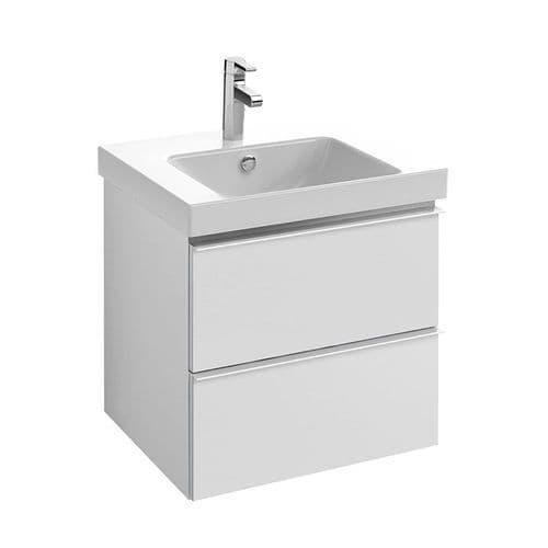 Kohler Reach 600mm Rectangular Washbasin & Base Unit with 2 Drawers