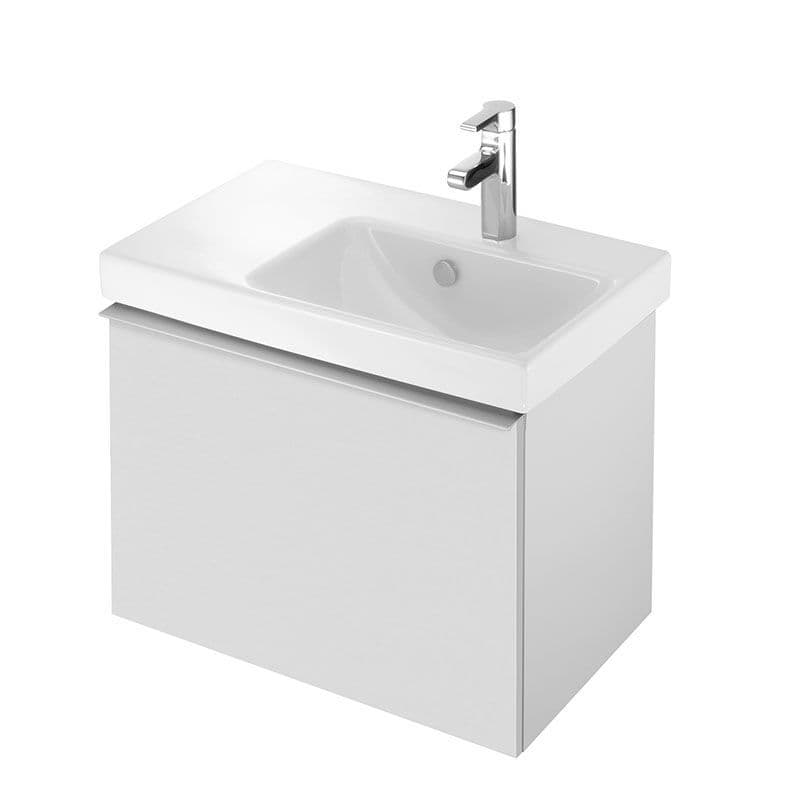 Kohler Reach 650mm Washbasin (Right-Hand Basin) & Base Unit with 1 Drawer