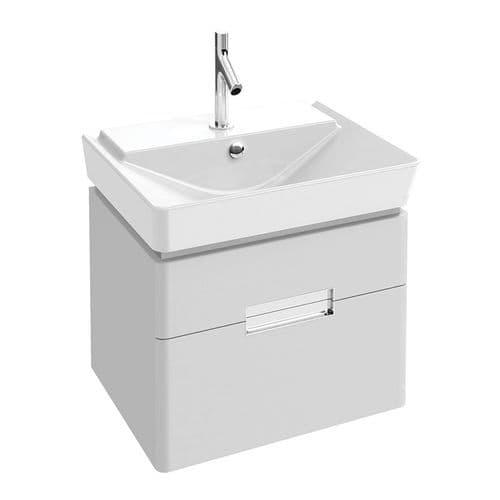 Kohler Reve 600mm Washbasin & Base Unit with 2 Drawers