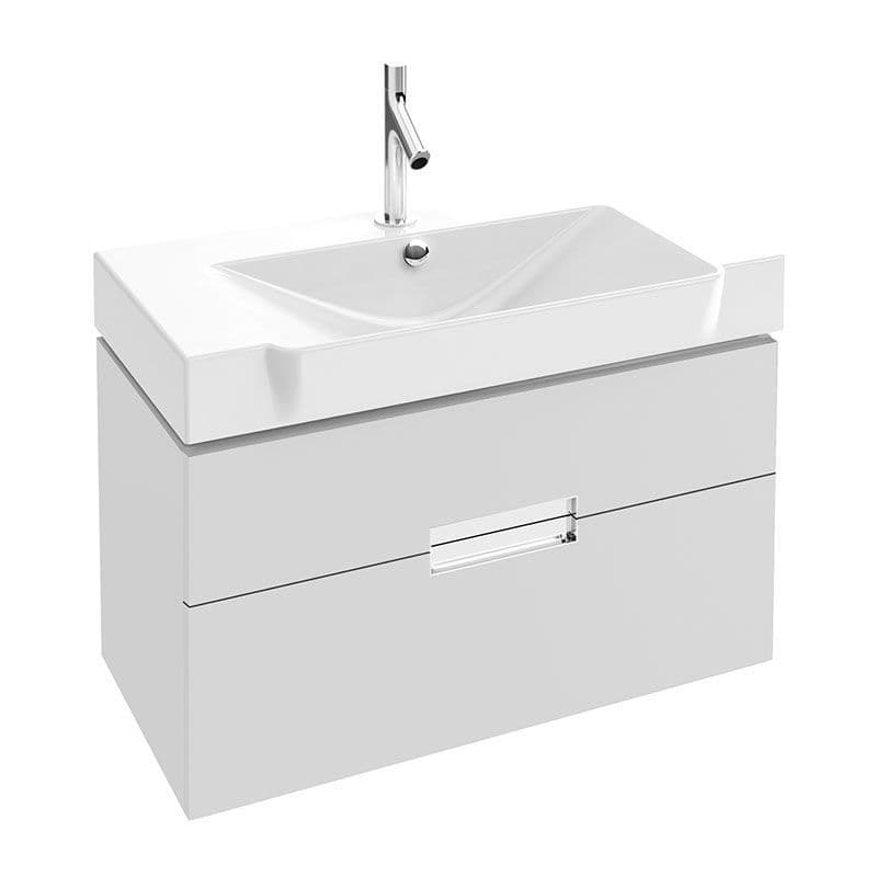 Kohler Reve 800mm Washbasin & Base Unit with 2 Drawers