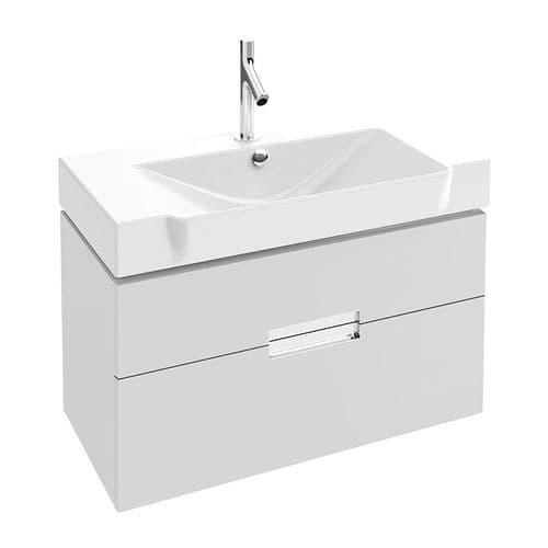 Kohler Reve 800mm Washbasin & Base Unit with 2 Drawers