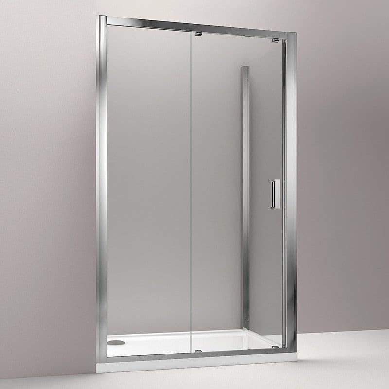 Kohler Skyline 1100mm Sliding Door Corner Shower Enclosure
