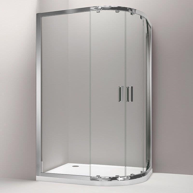 Kohler Skyline 1200 x 900mm Sliding Door Quadrant Shower Enclosure