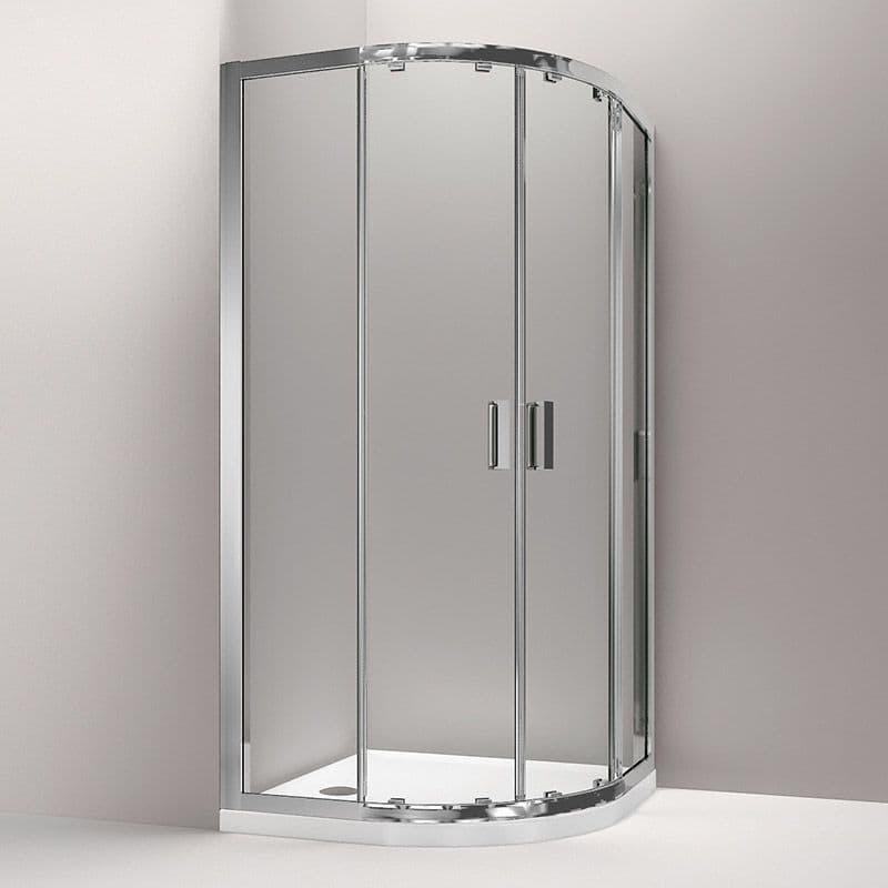Kohler Skyline 800 x 800mm Sliding Door Quadrant Shower Enclosure