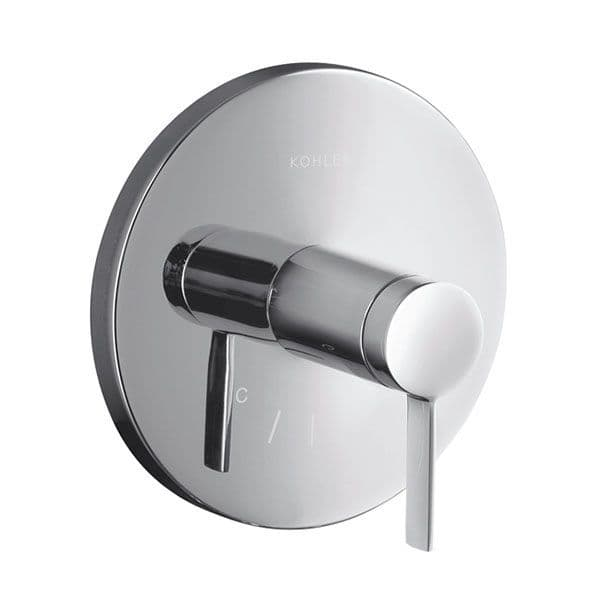 Kohler Stillness Wall-Mounted Concealed Thermostatic Temperature Control Valve with Lever Handle