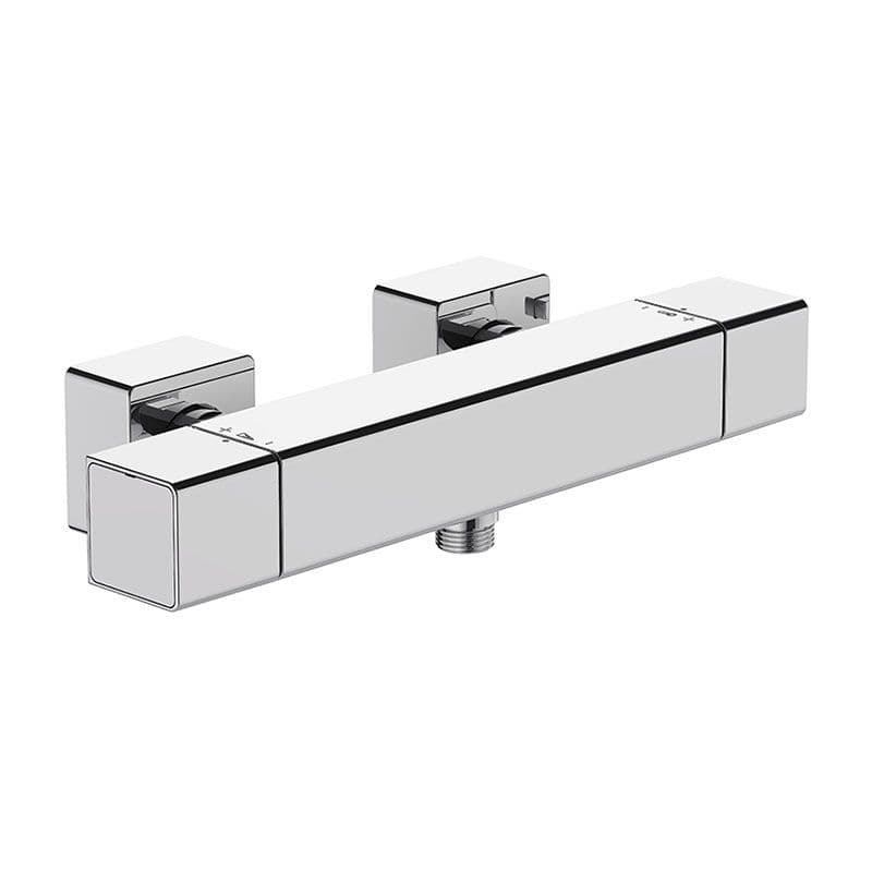 Kohler Strayt Wall-Mounted Thermostatic Exposed Shower Valve with Dial Controls