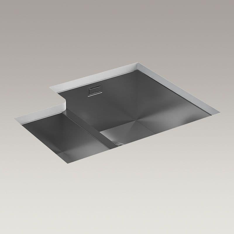 Kohler True 577mm 1.5 Bowl Kitchen Sink (Right-Hand Bowl)