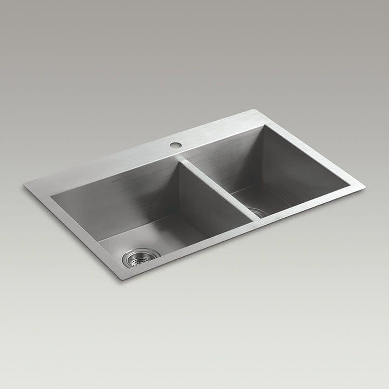 Kohler Vault 838mm 1.5 Bowl Kitchen Sink