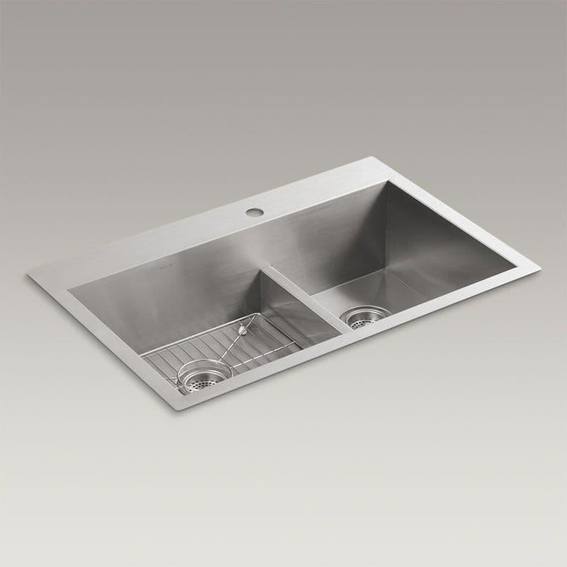 Kohler Vault 838mm Smart Divide 1.5 Bowl Kitchen Sink