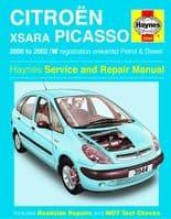 3944 Haynes Citro?n Xsara Picasso Petrol & Diesel (00 - 02) Workshop Manual