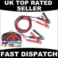 3M JUMP START LEADS HEAVY DUTY FULLY INSULATED START UP BOOSTER CABLES 500 AMP