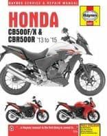 Haynes Manual Honda CB500 2013-15 CBR500R Workshop Manual