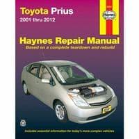Haynes Manual Toyota Prius 2001-2012 USA Workshop Manual