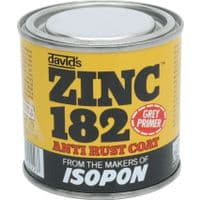 UPOL ISOPON ZINC 182 ANTI RUST PRIMER CORROSION PROTECTION FAST DRYING - 250ML