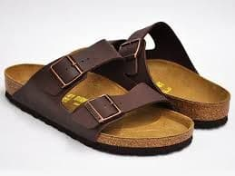Birkenstock 'ARIZONA' Brown Birko-Flor®.