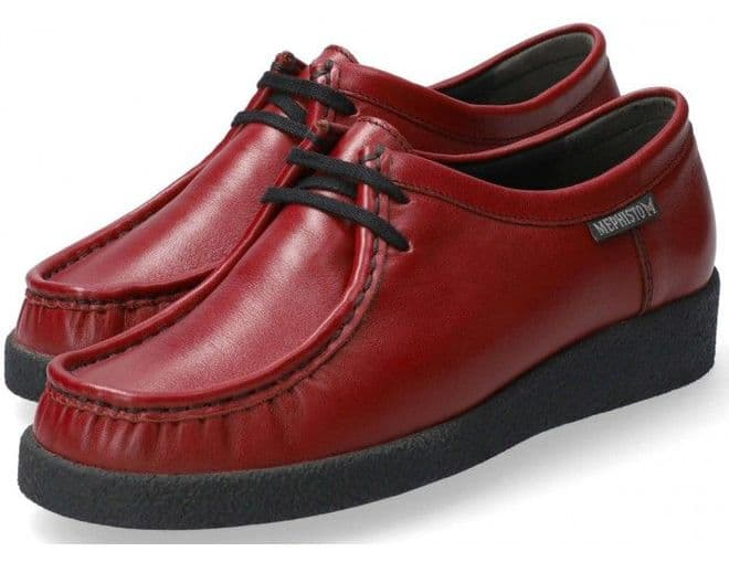 Mephisto 'CHRISTY' Red leather